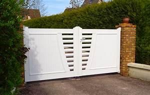 Portail Brico Depot 4m : portail pvc blanc portail alu 4m sfrcegetel ~ Farleysfitness.com Idées de Décoration