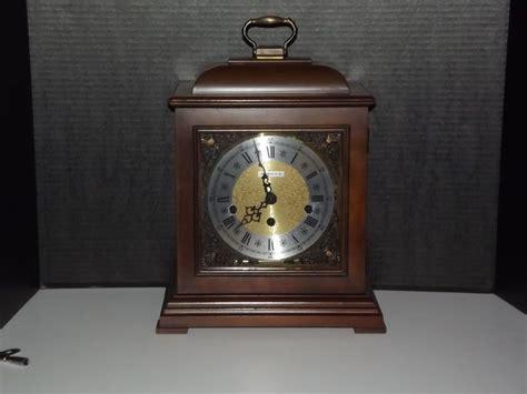 Vintage Howard Miller Barwick Triple Chime Mantel Clock