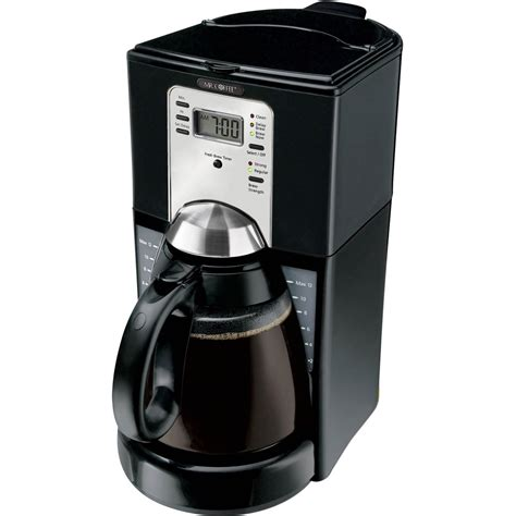 Coffee delay brew light is blinking, it could mean that the. Mr. Coffee Programmable Coffeemaker With Fresh Brew Timer ...