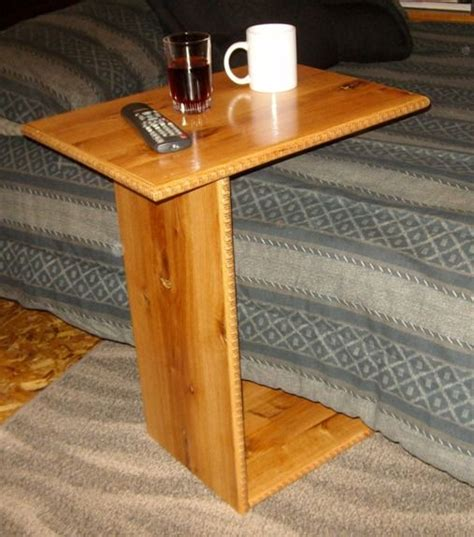 amazon com sofa tray table canadian walnut arm for prepare 1 maxjousse com