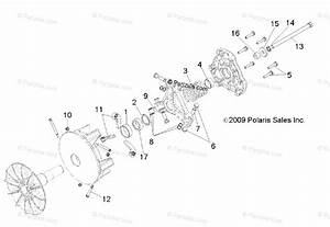 Polaris Side By Side 2014 Oem Parts Diagram For Drive