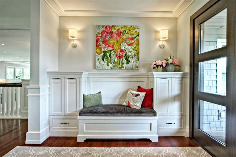 Entryway Decorating Ideas Bench