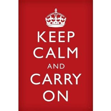 keep calm and carry on for gray