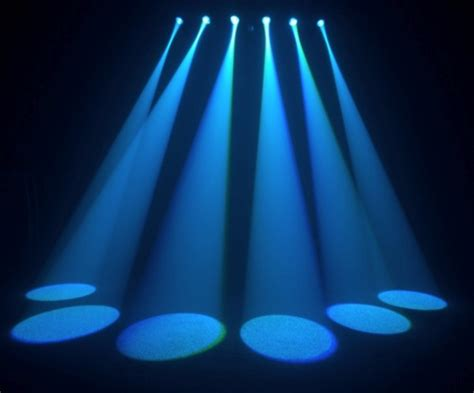 led stage lighting chauvet 6spot led stage light new