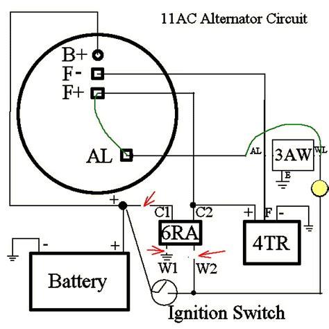 lucas 11ac alternator guides