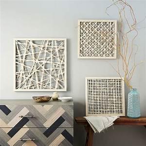handmade paper wall art diagonal west elm With paper wall art