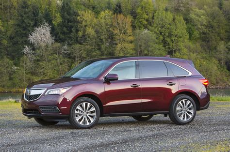 2014 acura mdx first look automobile magazine