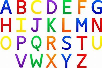 Alphabet Colorful Clip Sweetclipart