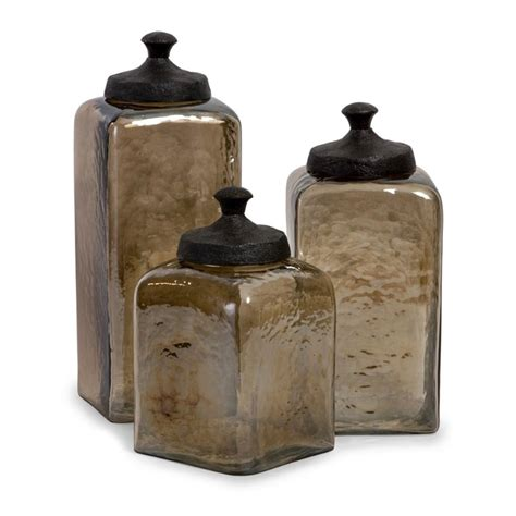 glass kitchen canister set canister sets house home
