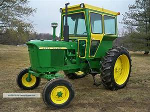 John Deere 3010 Diesel Tractor With Cab