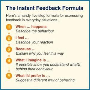 Giving Constructive Feedback Diagram | Giving and ...