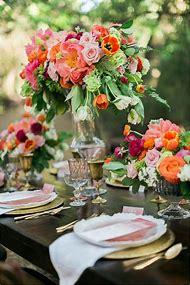 Summer Wedding Flower Centerpiece Ideas