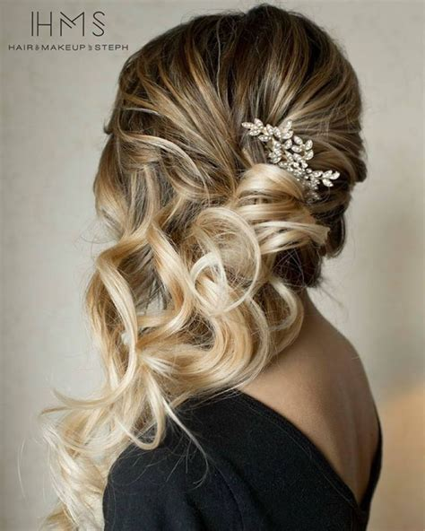 25 ideas about bridesmaid side hairstyles on