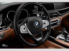 BMW Individual Showcases Highly Personalized 2016 7Series