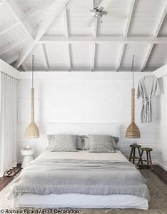 emejing chambre adulte avec lambris pictures design With chambre avec lambris blanc