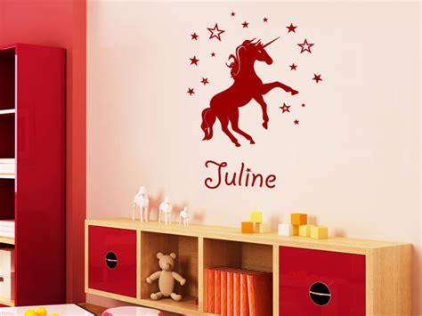 Wandgestaltung Kinderzimmer Einhorn by Wandgestaltung Kinderzimmer Wandgestaltung