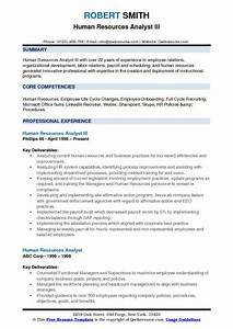 Example Summary For Resume Of Entry Level Human Resources Analyst Resume Samples Qwikresume