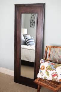 floor mirror diy leaning mirror on pinterest floor mirrors floor standing mirror and reclaimed doors