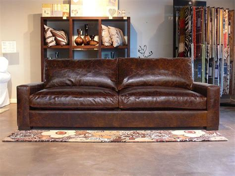 Distressed Leather Sleeper Sofa by The 25 Best Distressed Leather Sofa Ideas On