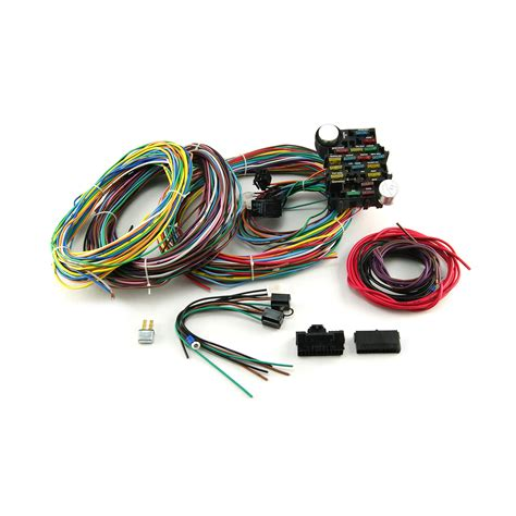 3 Circuit Universal Wiring Harnes Kit by Universal 22 Circuit Wiring Harness Kit Ebay