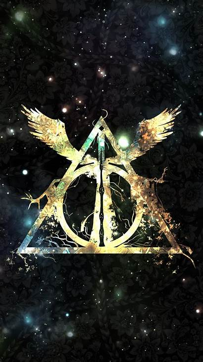 Deathly Hallows Symbol Wallpapers Potter Harry Cave