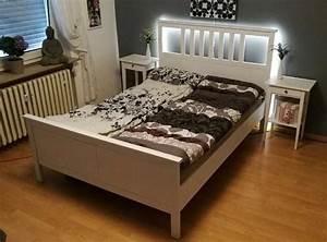 Betten 140x200 Weiß : hemnes bett 140x200 wei gebeizt 2xrost matratze 2xnachttisch in mannheim betten kaufen und ~ Eleganceandgraceweddings.com Haus und Dekorationen