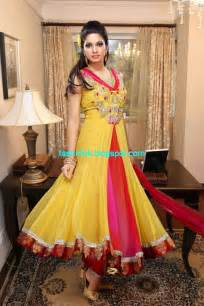 Anarkali Umbrella Frock Dress