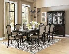 9 dining room sets homelegance marston 9 pedestal dining room set in espresso beyond stores