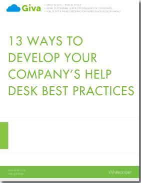 help desk best practices 13 ways to develop your company 39 s help desk best practices