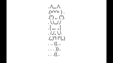 Jumping Cat Copy And Paste Text Art