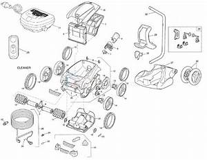 Polaris 9550 Sport Robotic Cleaner Parts