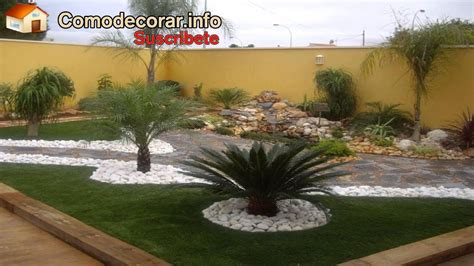 como decorar tu jardin youtube