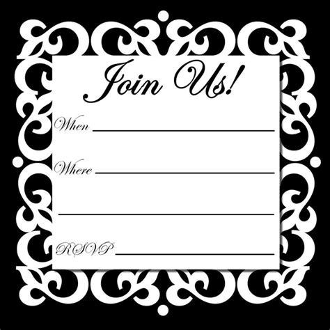 printable party invitations printable