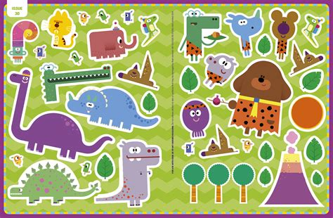 hey duggee issue 30 magazine with bumper sticker pack 5 minute shop