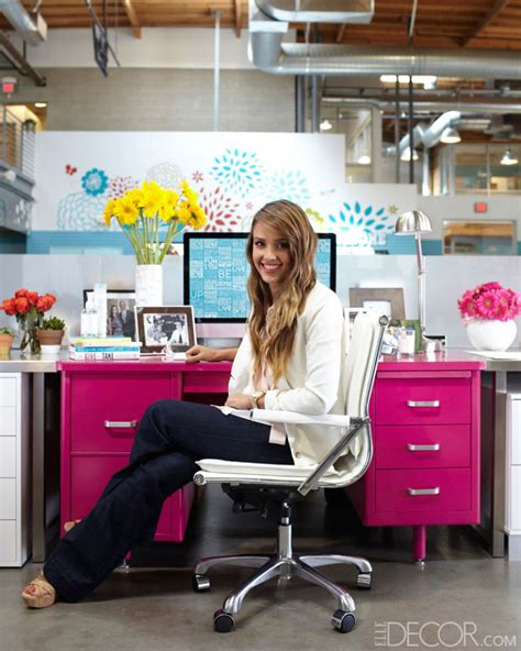 actress jessica the office how to decorate an office with jessica alba interior