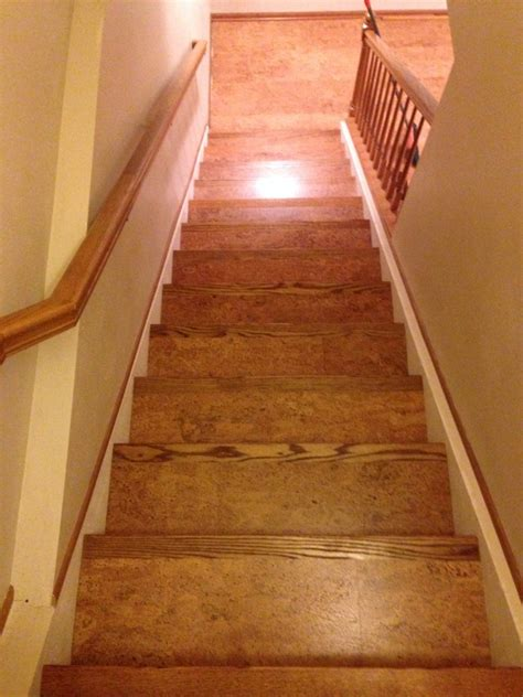corkifying  stair case eco friendly flooring