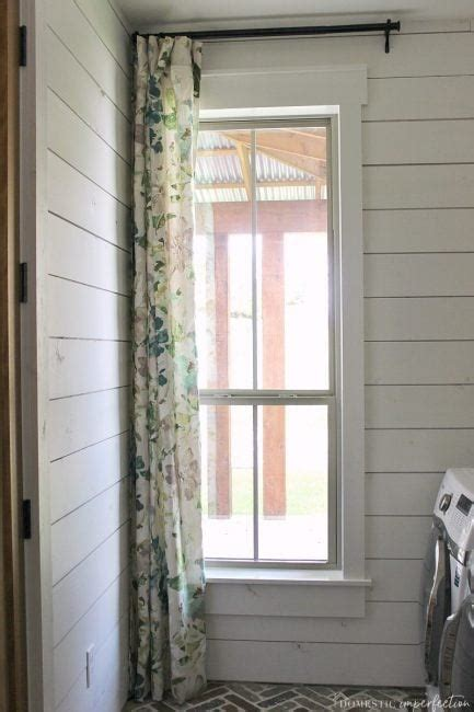 simple farmhouse window trim domestic imperfection