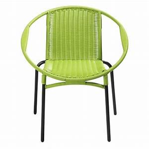 Fauteuil De Jardin Maison Du Monde : fauteuil de jardin rond vert rio maisons du monde ~ Premium-room.com Idées de Décoration