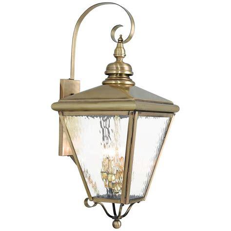 cambridge 35 quot high antique brass outdoor wall light