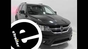 Installation Of A Trailer Wiring Harness On A 2012 Dodge Journey - Etrailer Com