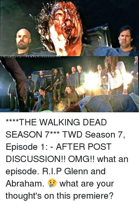 Walking Dead Season 7 Memes - 25 best memes about the walking dead season 7 the walking dead season 7 memes