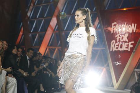 Cannes France May Heidi Klum Walks The Runway