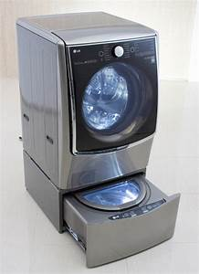 Lg U0026 39 S New Washing Machine Cleans Two Different Loads At