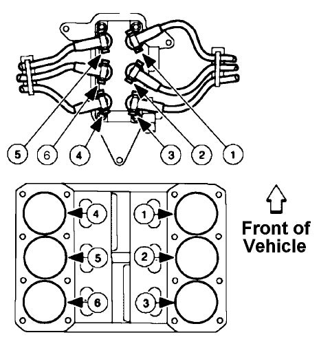 Ford 4 2l Engine Starter Wiring by Just Replaced Coil Pack On A Ford F 150 2001 4 2l Now It