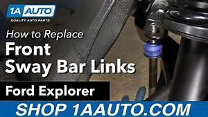 How To Replace Front Sway Bar Link 06