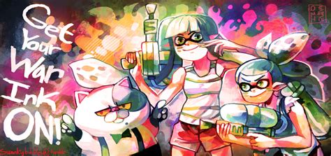 Splatoon By Ladykuki On Deviantart