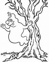Ghost Coloring Halloween Colorear Kolorowanki Printable Duch Fantasmas Dzieci Dragon Dla Miedo Geist Gespenst Dibujos Pintar Tree Ausmalbilder Imagenes Kolorowanka sketch template