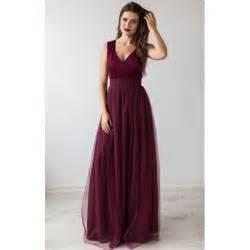 burgundy wedding dresses best 25 burgundy bridesmaid dresses ideas on burgundy bridesmaid merlot wedding