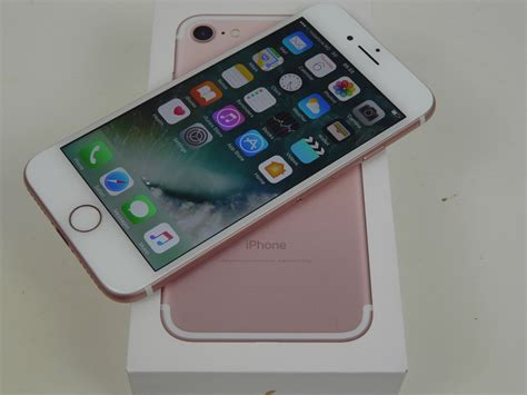 what was the iphone apple iphone 7 unboxing 32 gb gold a familiar