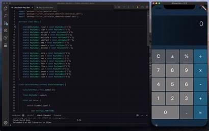 Calculator Flutter Screen App Building Recording Math